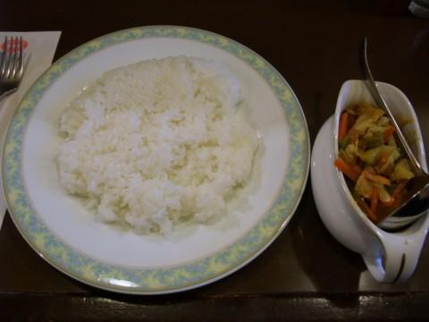 ボルツチキンと野菜