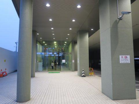 東京港フェリーターミナル入口