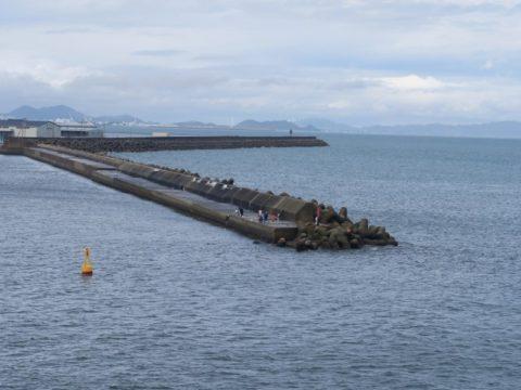 徳島港防波堤
